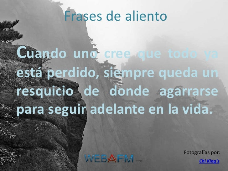 Frases De Aliento Webafmcom