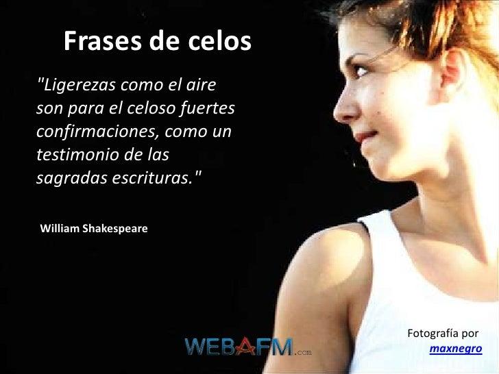 Frases De Celos Webafm