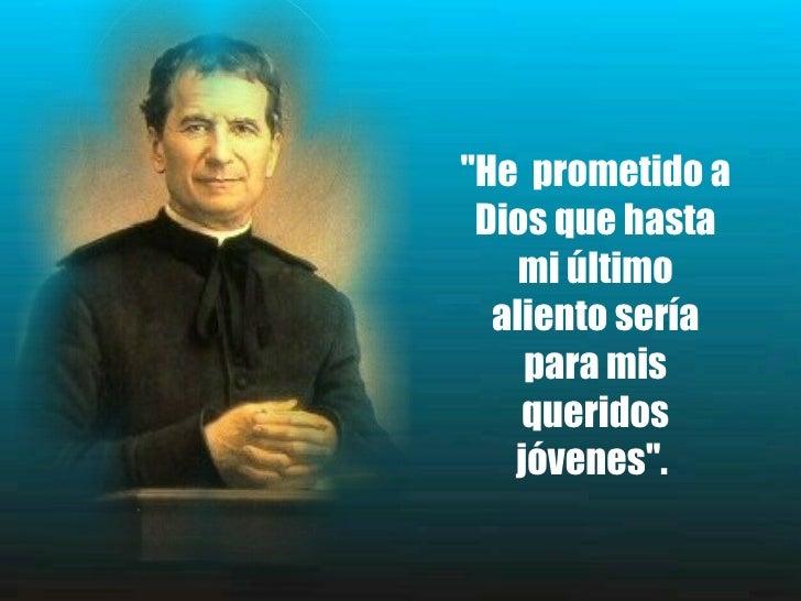 Frases De Don Bosco