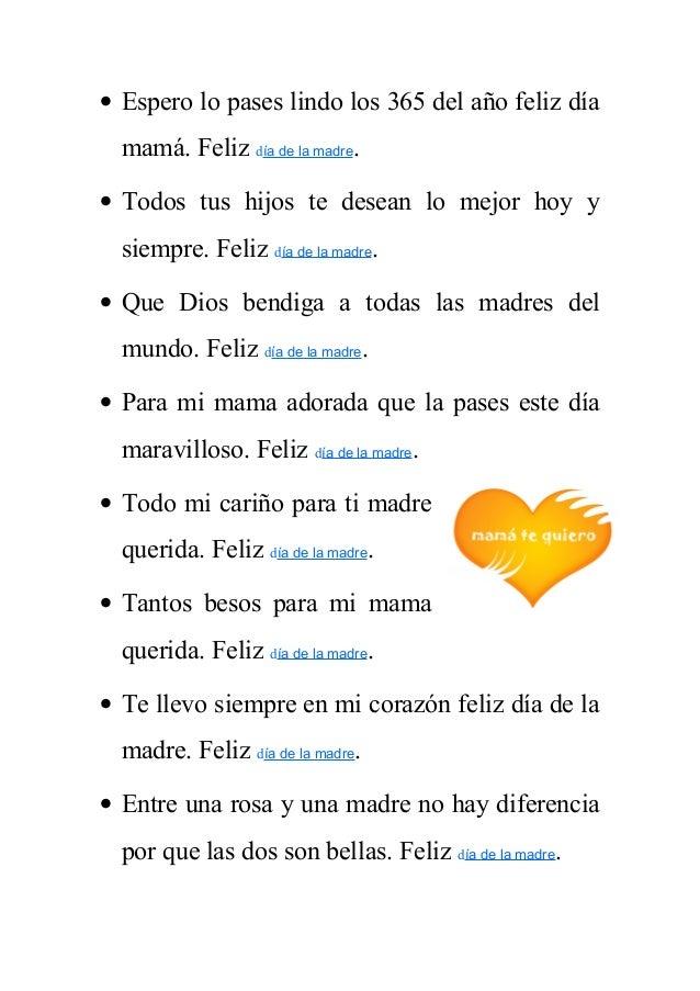 Frases Del Dia De La Madre