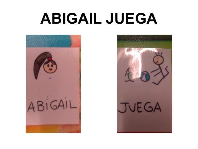 ABIGAIL JUEGA