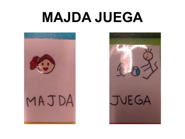 MAJDA JUEGA