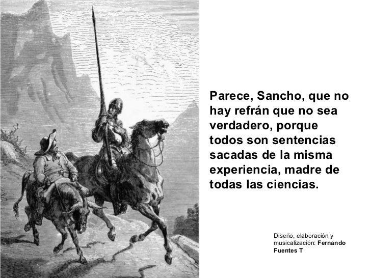 Refranes Y Frases Celebres Del Quijote Dela Mancha Sitios