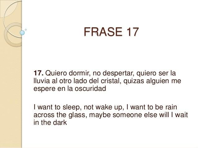 Frases En Ingles Traducidas A Espanol