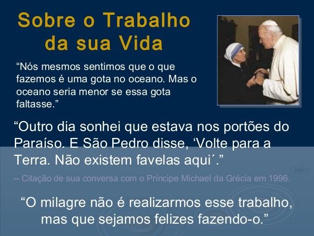 Uma Gota No Oceano Madre Teresa: Frases E Pensamento S De Madre Teresa
