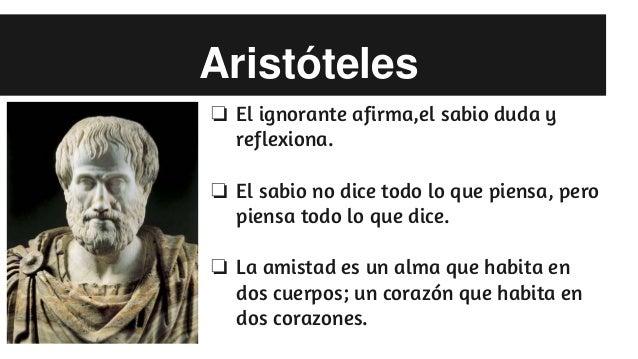 Frases De Aristóteles: Frases Filosoficas