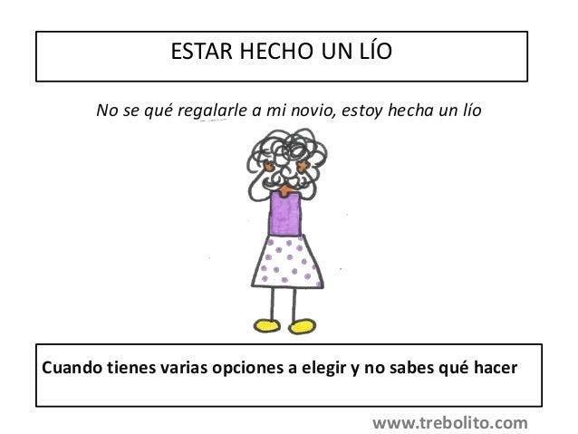 Frases Hechas Castellano Explicación Ejemplo Y Dibujo