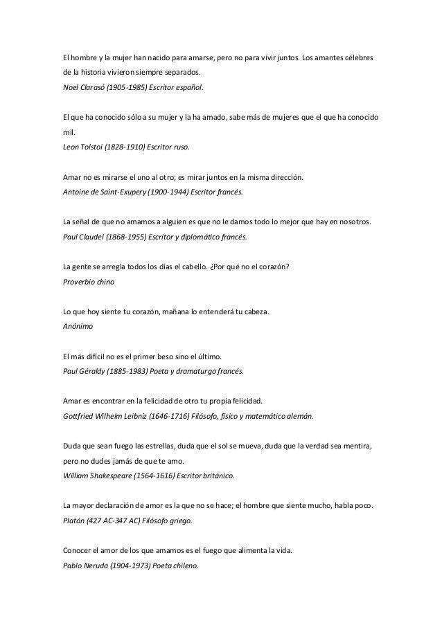 Frases Para Enamorar De Amor