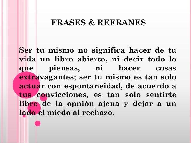 Frases Refranes Raquel Trujillo