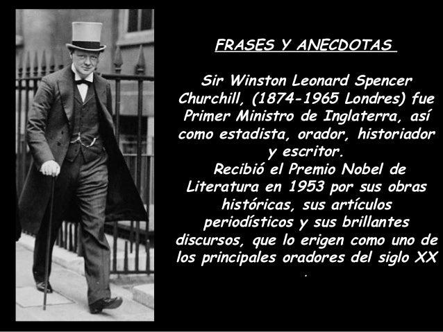 Frases Y Anecdotas De Winston Churchill