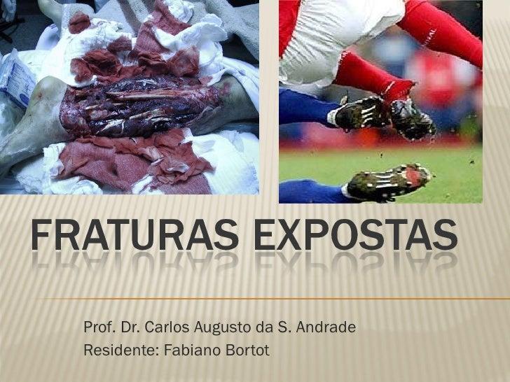 Prof. Dr. Carlos Augusto da S. Andrade Residente: Fabiano Bortot
