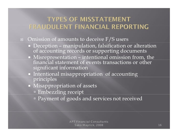 what responsibility does an auditor have to detect material misstatements due to errors and fraud Audit in the context of fraud, and se ts out the responsibilities of the auditor for detecting material misstatements due to fraud • requires the auditor to maintain an attitude of professional skepticism.