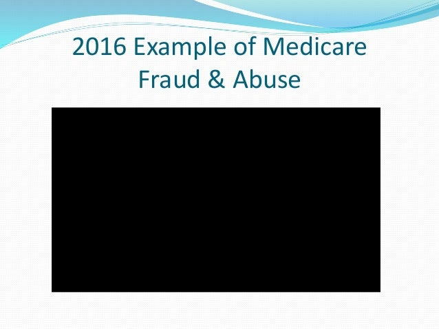 fraud and abuse Overview as you know, health care is a highly regulated area as such, there are  both federal and state laws and regulations that are regularly implicated during.