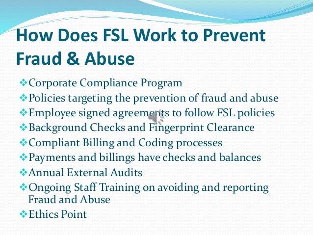 how to recognize fraud and abuse A roadmap for new physicians fraud & abuse laws  it is illegal to submit claims for payment to medicare or medicaid that you know or should know are false or .