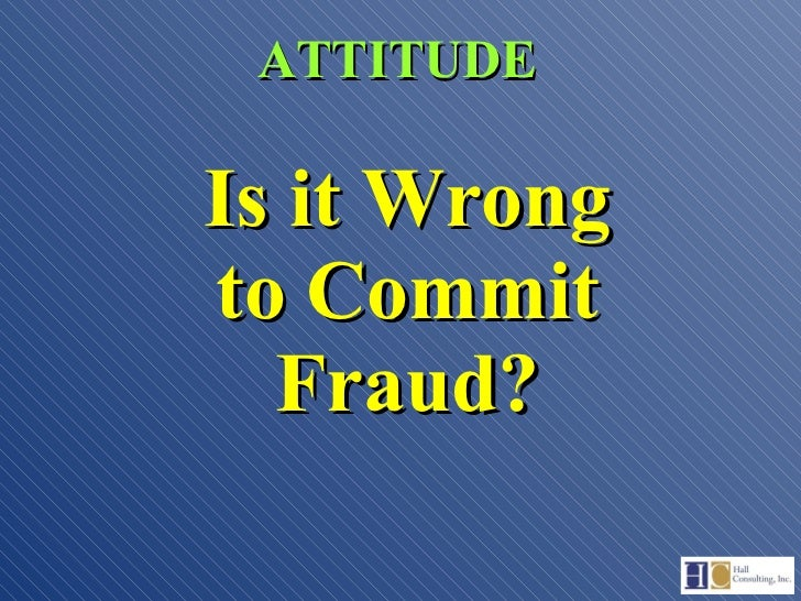 fraud and internal control Internal controls are methods in which you can monitor and take control of your  business and profits and minimize loss there are many ways.