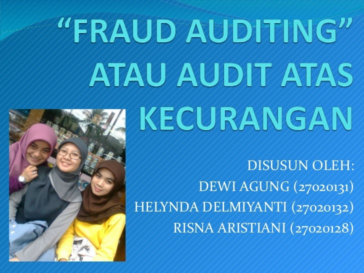 fraud auditing Definition of fraud fraud and related misconduct prohibited by this policy generally involves a willful or deliberate act or failure to act with the intention of obtaining an unauthorized benefit.