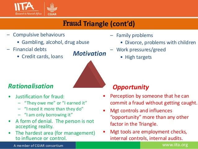 IITA Youth corps occupational fraud awareness  Slide 3