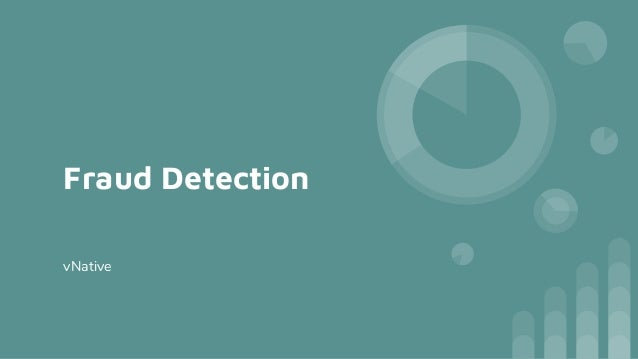 Fraud Detection vNative