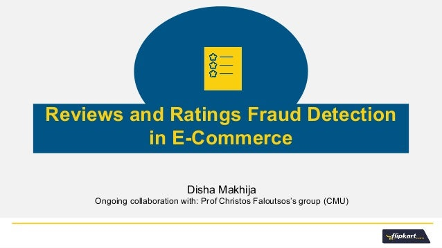 e commerce fraud essay We're fourteen years into the millennium, thriving in an e-commerce landscape  where online merchants offer goods and services to millions of customers.