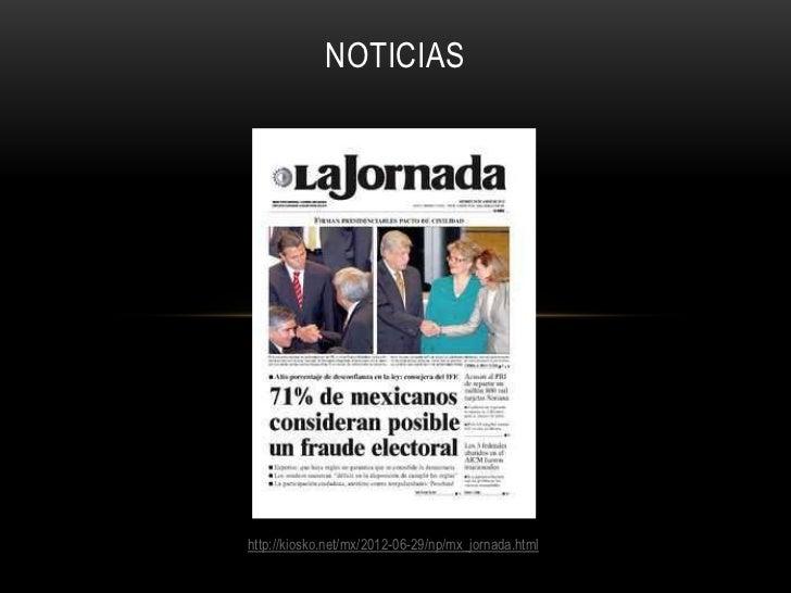 Fraude electoral mexico 2012 al 5 de Julio 13:00 hrs Slide 3