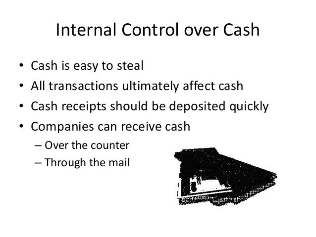 thesis on internal control over cash 1 i background 6 ii the objectives and role of the internal controls framework   cash flows and earnings of financial instruments and transactions thoughtful .
