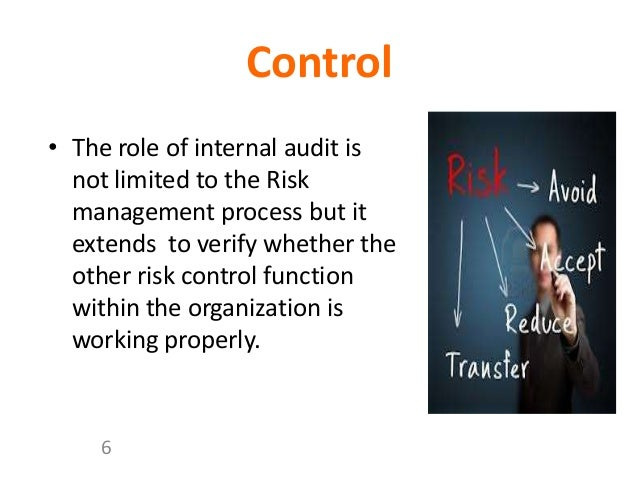 role of internal audit Read this insight which discusses the changing role of internal audit, and introduces best practices to effectively detect and manage new and emerging risks.