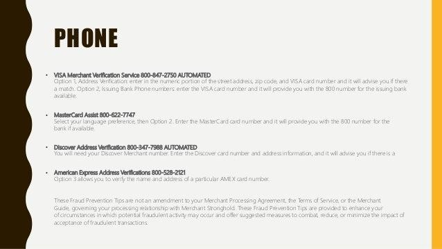 Online best credit card fraud prevention information resources 4 phone visa merchant verification platinumwayz