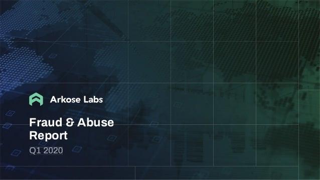 Fraud & Abuse Report