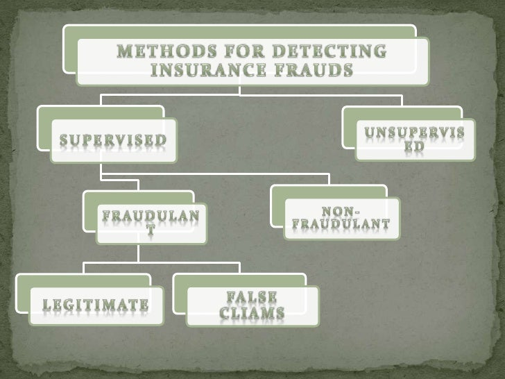 frauds in insurance There are limits to the situations in which fraud should be used as a defense, as shown in three recent cases discussed by jay levin.