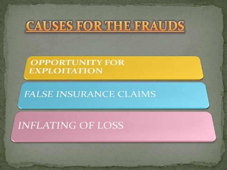 insurance fraud essay Insurance fraud occurs most often when an insured individual or entity makes a false or exaggerated insurance claim, seeking compensation for injuries or losses that.
