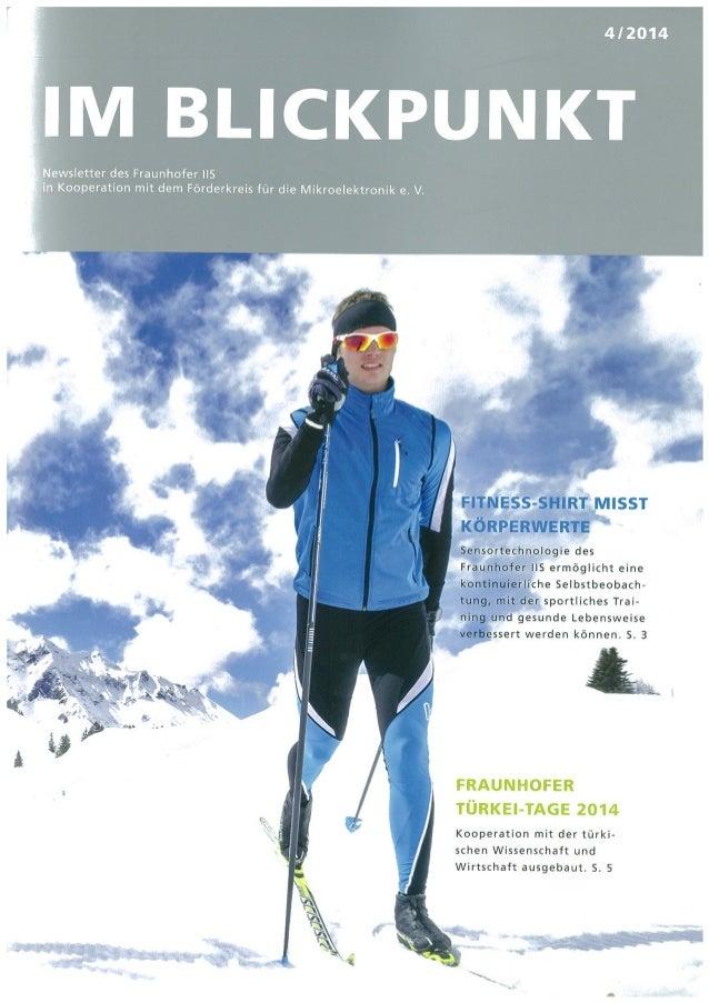 Fraunhofer Blickpunkt 4 2014