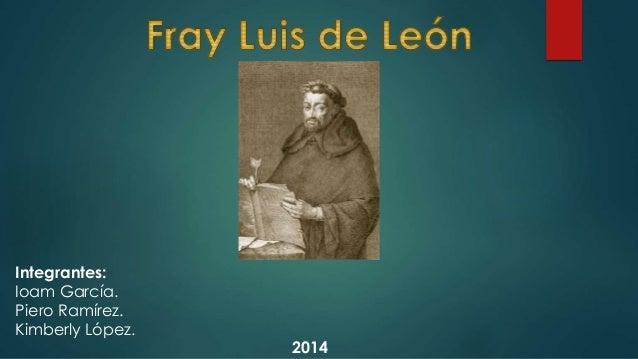 Integrantes: Ioam García. Piero Ramírez. Kimberly López. 2014