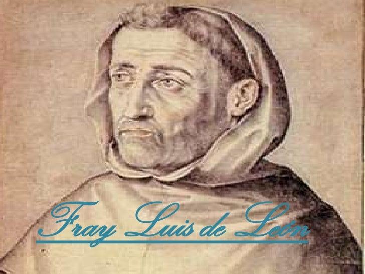 Resultado de imagen para Fotos de Fray Luis de León
