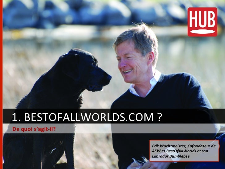 """""""Best of all worlds.com"""", le nouveau réseau social VIP Slide 3"""