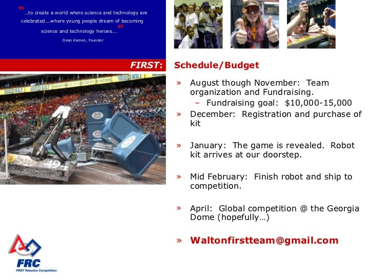 Walton First Robotics