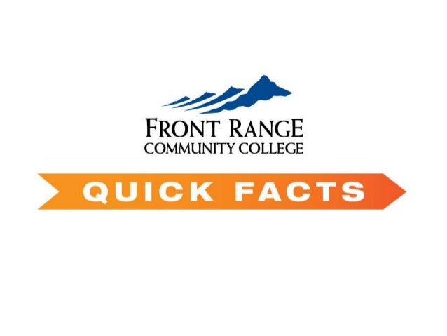 FRCC Quick Facts