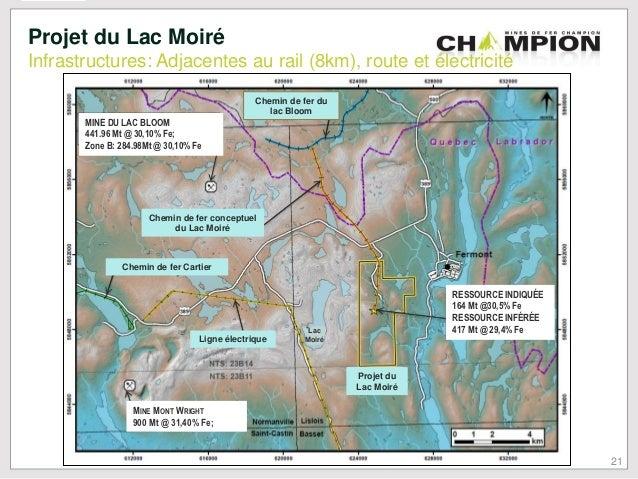 Champion Iron Mines Limited Share Price - CHM | ADVFN