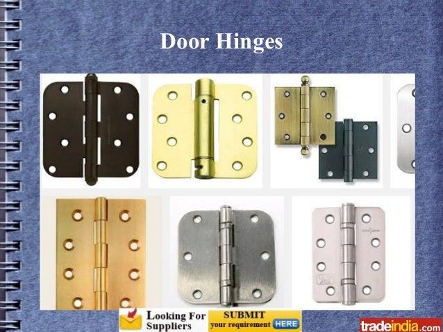 Door Levers; 8.  sc 1 st  SlideShare & Door and Window Fittings \u0026 Accessories