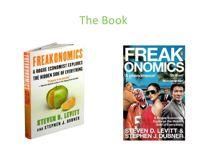 freakonomics e book reviews