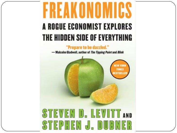 Freakonomics - Concepts and Application Slide 2