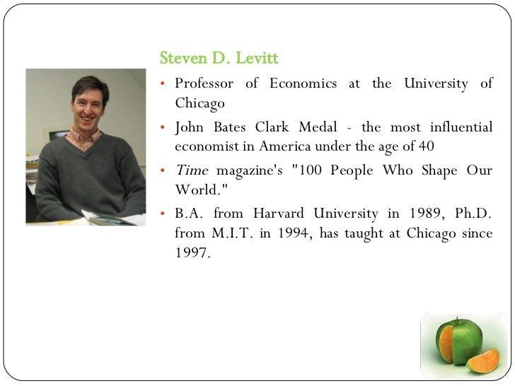 Freakonomics - Concepts and Application Slide 3