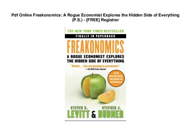 Freakonomics pdf book free download