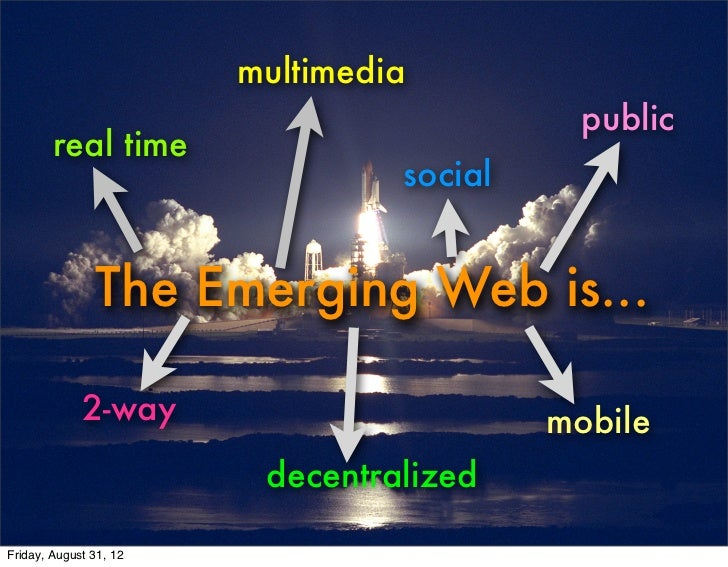 multimedia                                            public        real time                                 social      ...