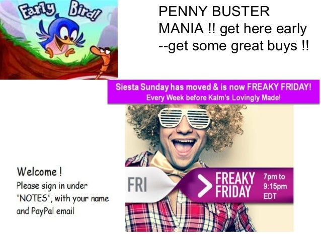 PENNY BUSTER MANIA !! get here early --get some great buys !!