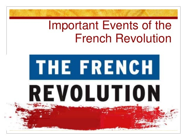 the importance of the french revolution He received five letters about a revolution occurring in france most of these   he extolled the significance of the french revolution to american interests and.