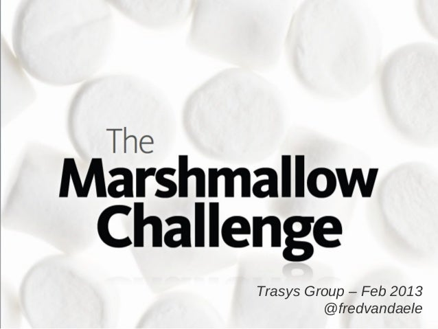 Trasys Group – Feb 2013         @fredvandaele