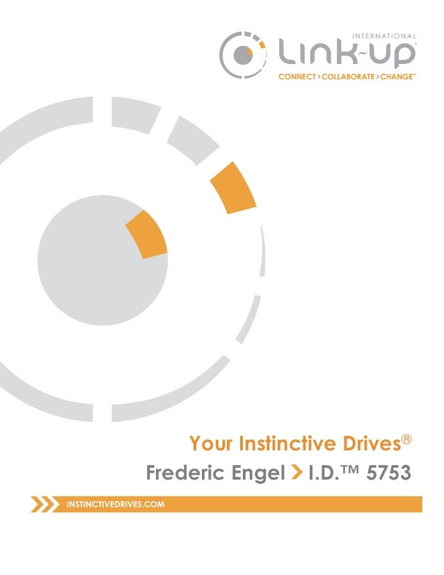 Your Instinctive Drives® Frederic Engel I.D.™ 5753
