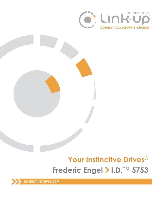 Your Instinctive Drives® Frederic Engel I.D.™ 5753