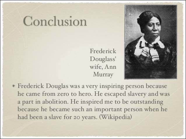 the history and frederick douglass definition of slavery