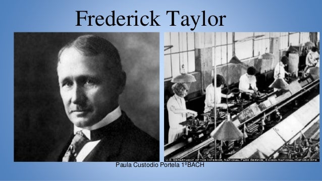 who was fredrick tylor